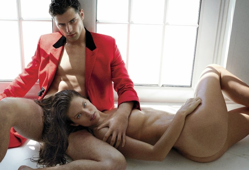 Sean O'Pry and Emily DiDonato for V magazine Pre-fall 2014