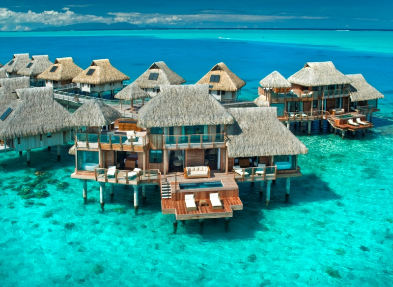 Four Seasons Resort Bora Bora's Otemanu Over-Water Bungalow