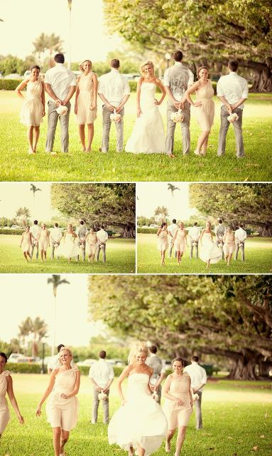 bridal party serial snaps