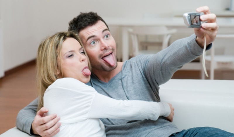 couple making faces at a camera_New_Love_Times