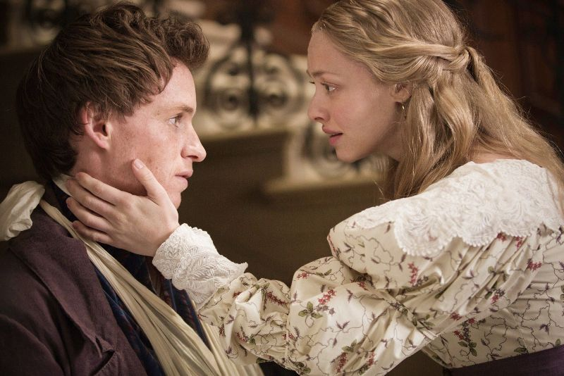 Marius and Cosette in Les Miserables