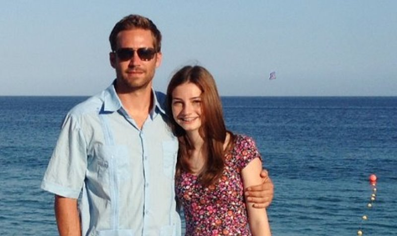 Father's Day: Paul Walker's Daughter Meadow Posts ...