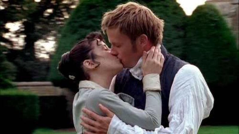 Wentworth and Anne in Persuasion