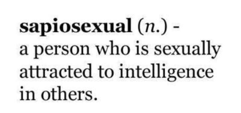 Sapiosexuals