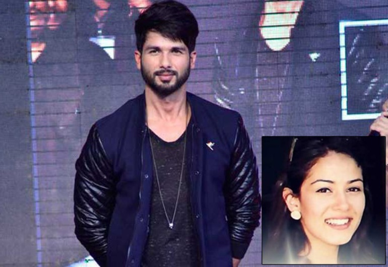 Shahid Kapoor and to-be Mrs. Shahid Kapoor