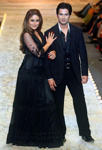 Shahid Kapoor with Kareena Kapoor