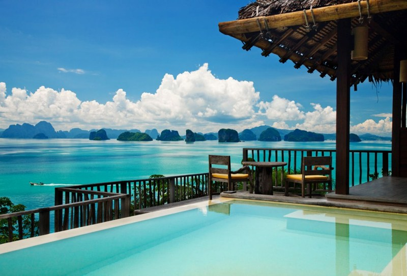 Ocean Panorama Pool Villa, Six Senses Yao Noi, Thailand