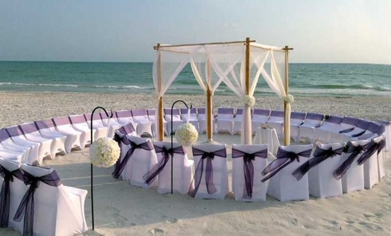 spiral wedding seating