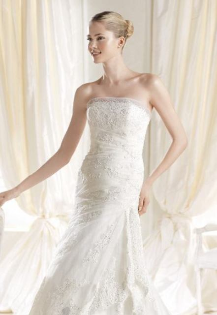 strapless wedding dress1