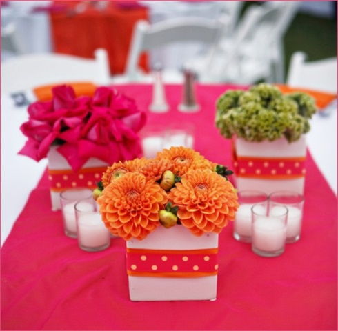 summer flower decor