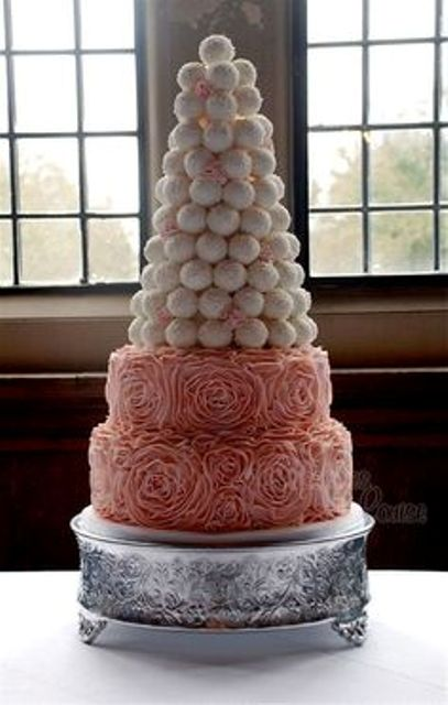truffle wedding cake
