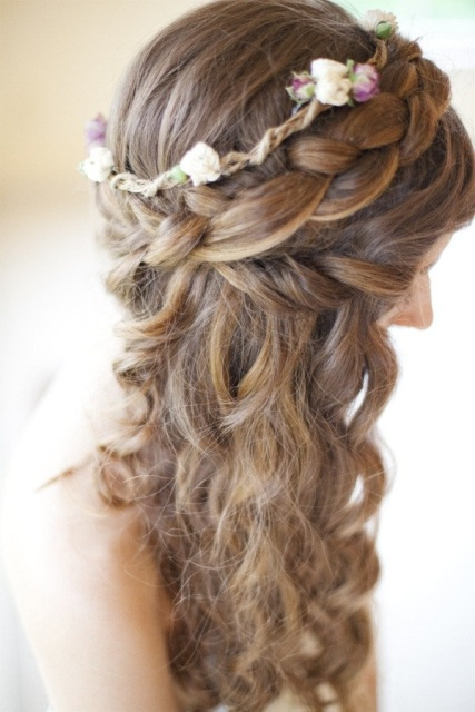 braided in blooms