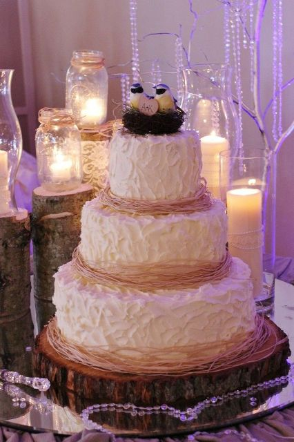 nature's nurture wedding cake