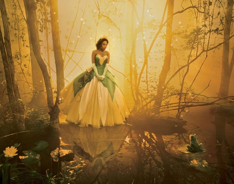 Jennifer Hudson as Tiana from The Princess and the Frog