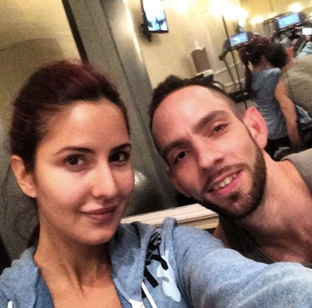 Katrina with her trainer Reza