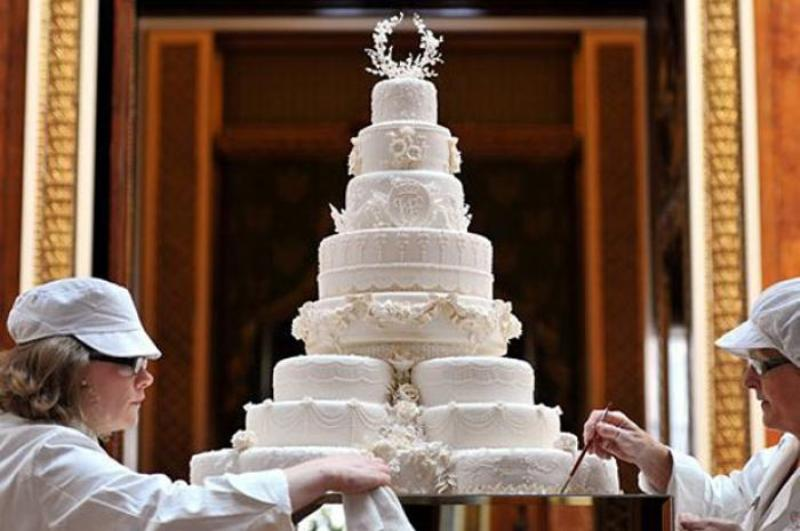 Prince William and Kate Middleton's wedding cake
