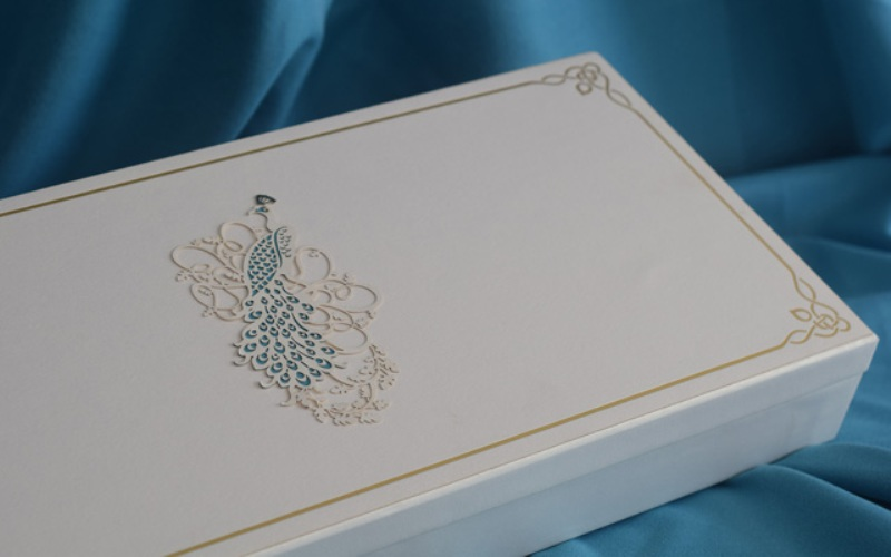 Shahid-Mira wedding card