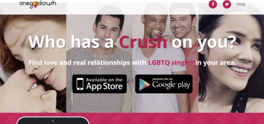 onegoodcrush dating app home page