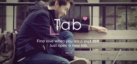 tab dating browser extension home page