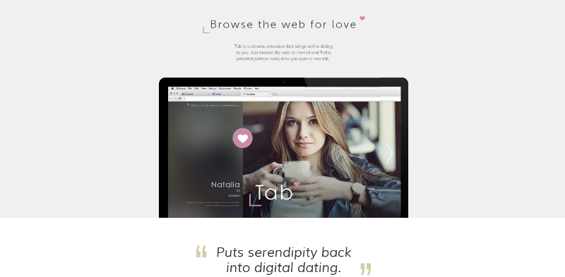 tab dating browser extension