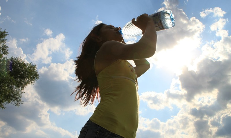 woman drinking water_New_Love_Times