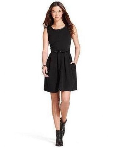 the classic black dress