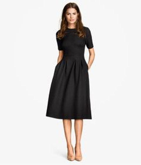 sheath dress in black