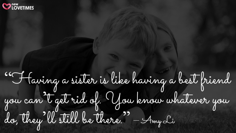 brother sister quote
