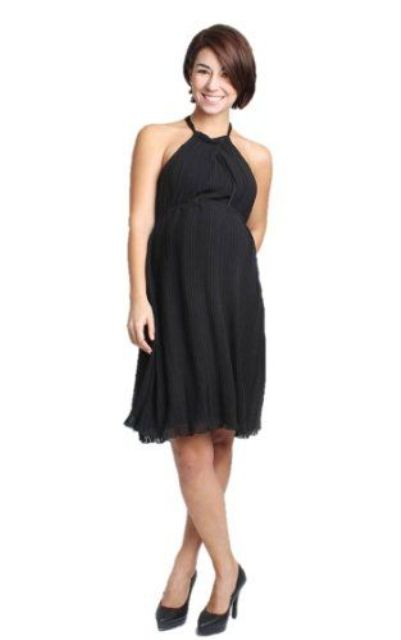 black shirt tail dress