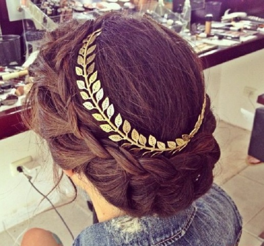 princess braid hairdo