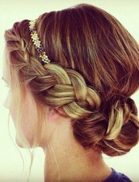 side wrap braid