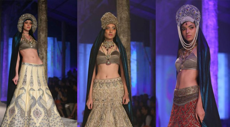 JJ Valaya Collection at BMW India Bridal Fashion Week 2015
