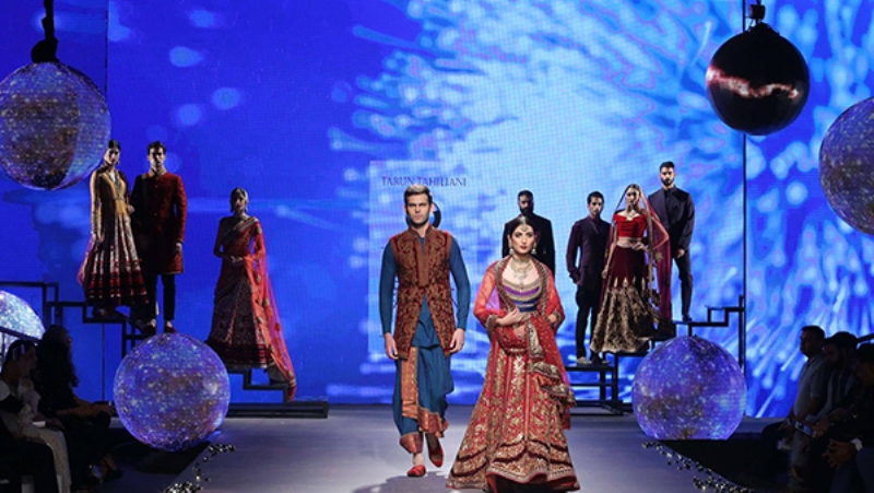 Tarun Tahilani collection at BMW India Bridal Fashion Week 2015