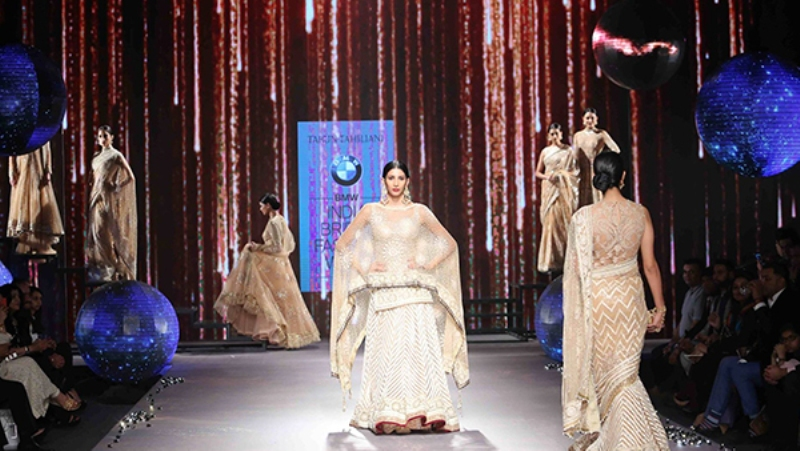 Tarun Tahilani collection collection at BMW India Bridal Fashion Week 2015
