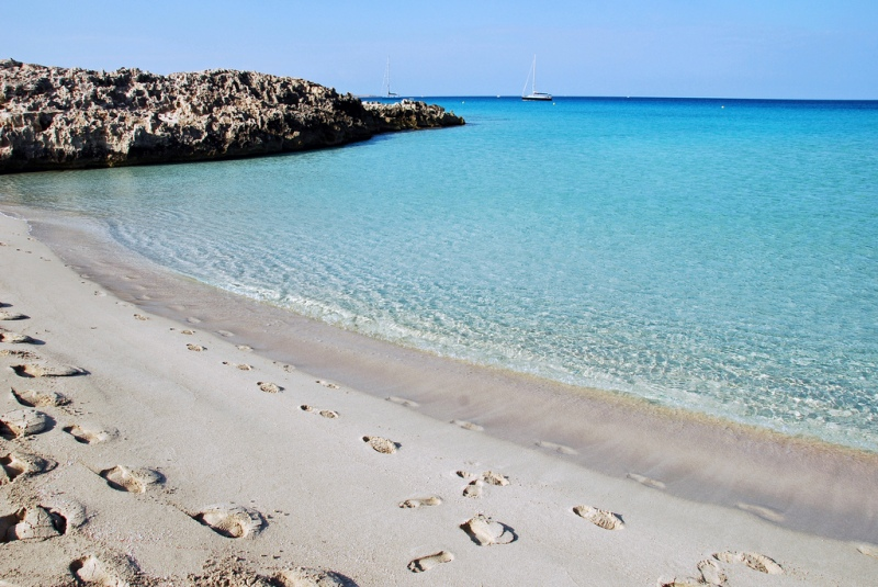 Playa de SesIlletes, Formentera, Spain