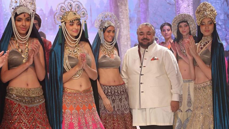 Russian inspired collection at India Bridal Fashion Week 2015