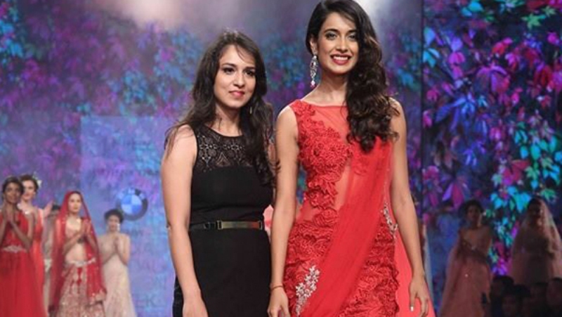 Sarah Jane Dias at India Bridal Fashion Week 2015