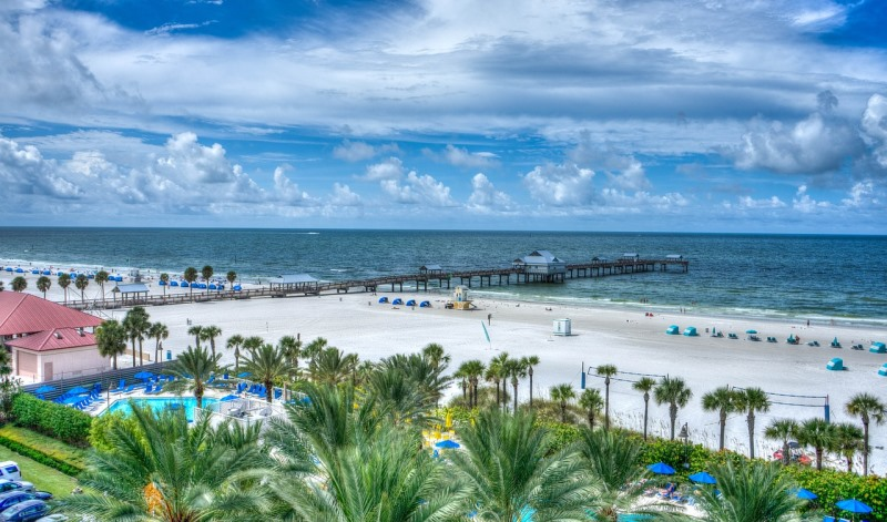 clearwater beach, clearwater, florida