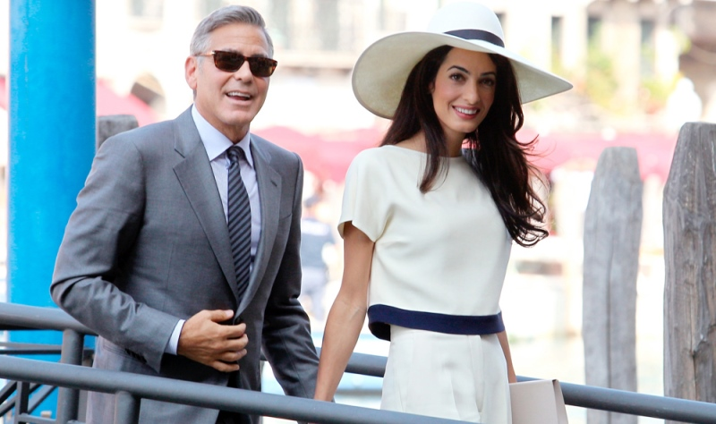 george clooeny and amal alamuddin