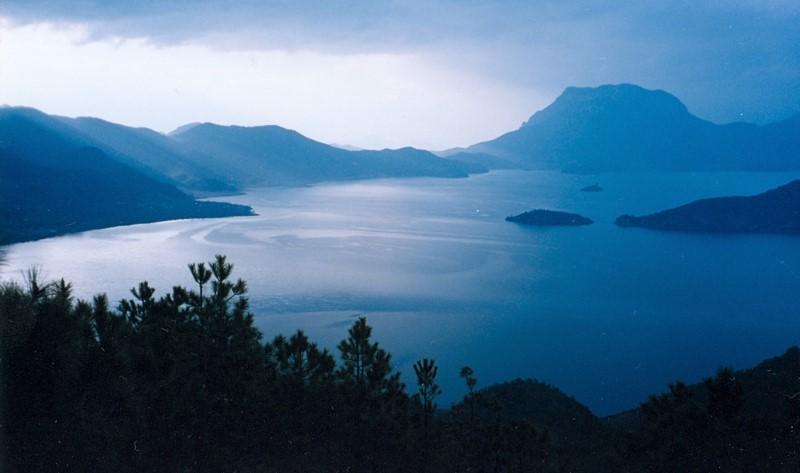 lugu lake, yunnan province, china