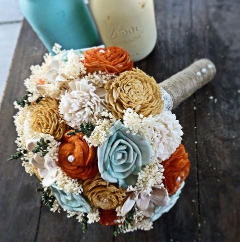 rustic keepsake bouquet