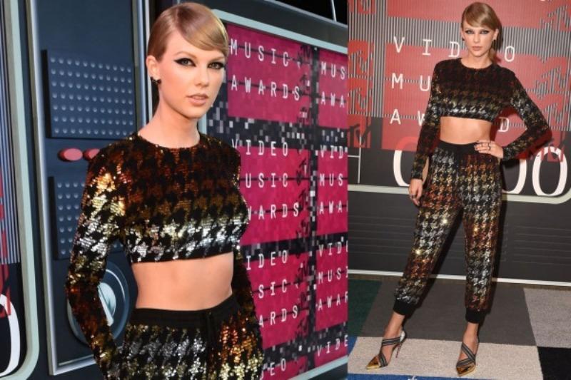 Taylor Swift at the MTV VMA 2015