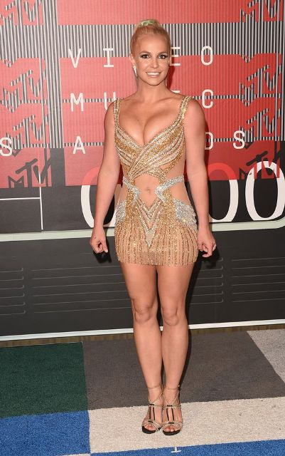 Britney Spears at the MTV VMA 2015