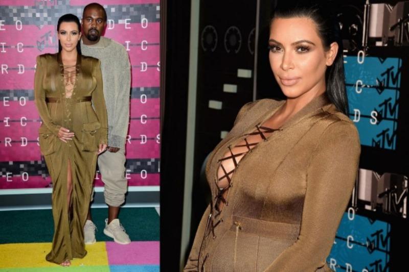 Kim Kardashian at the MTV VMA 2015