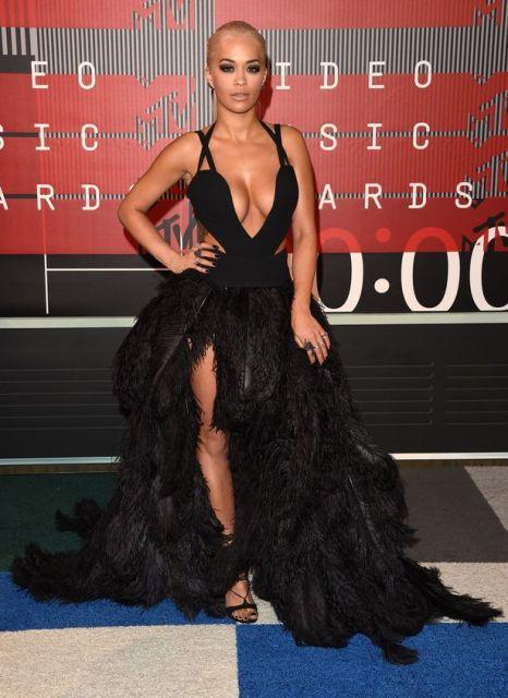 Rita Ora at the MTV VMA 2015