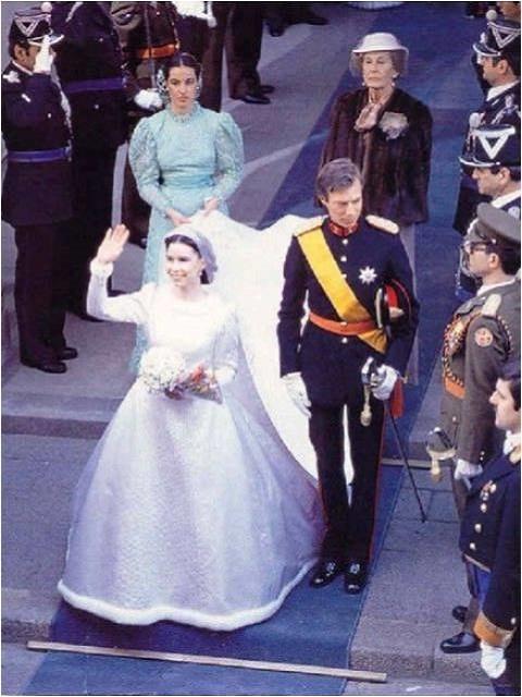 Maria Teresa Mestre and Prince Henri
