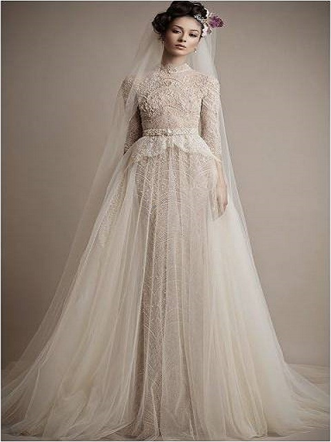 lace and tulle number