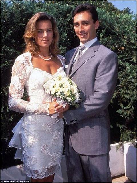 Stephanie of Monaco and Daniel Ducruet