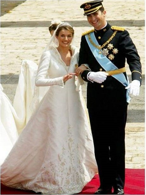 Letizia Ortiz and King Felipe of Spain