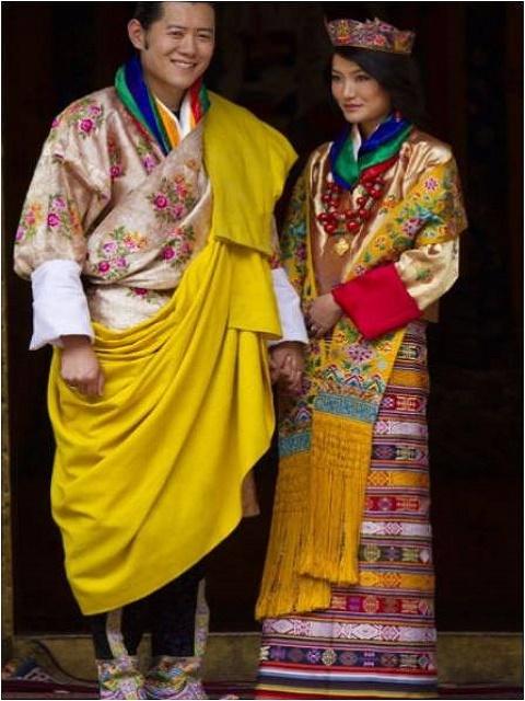 Jetsun Pema and Jigme Khesar Namgyel Wangchuck